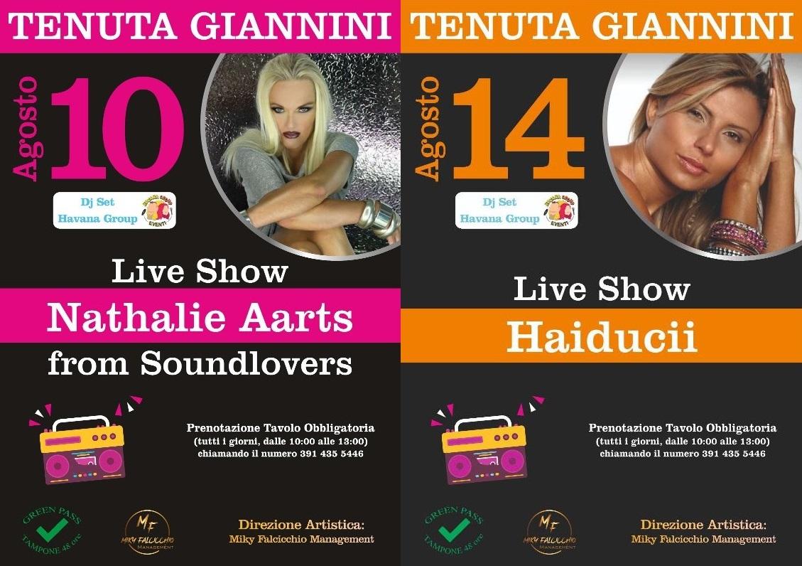 Puglia a ritmo dance ad agosto con Nathalie Aarts e Haiducii alla Tenuta Giannini