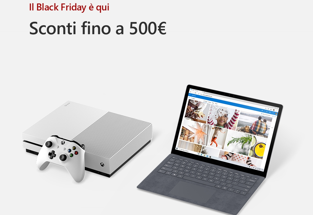 Microsoft Store dà il via al Black Friday