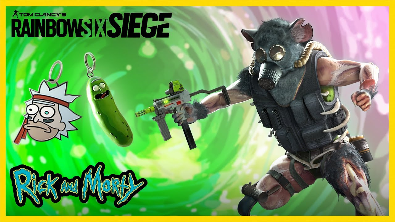 Rainbow Six Siege: in arrivo un Pack a tema Rick and Morty