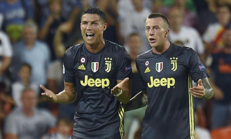 Valencia-Juventus 0-2 Champions League : highlights Video e gol della partita