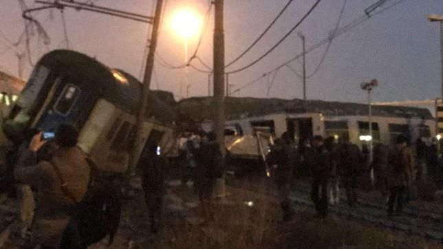 È deragliato un treno regionale a Segrate, poco fuori Milano