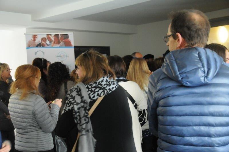 Folla da grandi occasioni alla Giornata Tutti insieme per la prevenzione :  e la voce unanime è ... anche a Massa c'è voglia di sanità!