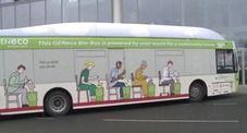 A Londra il primo cacca-bus : Il pullman alimentato a gas biometano