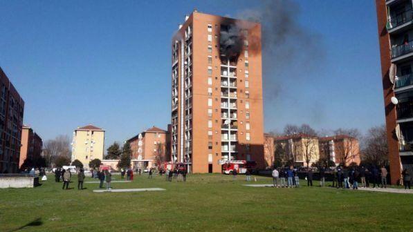 Incendio Palazzo a Milano : gravissimo un bambino