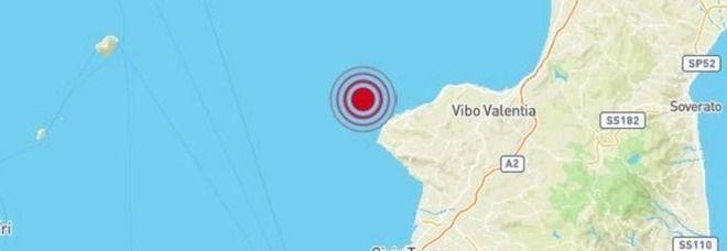 Calabria, forte scossa di terremoto a Tropea di magnitudo 4.4 : Paura questa mattina alle 4:50
