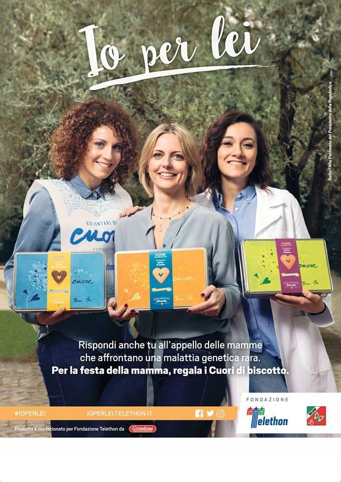 Parte la campagna di primavera: anche in provincia di Latina il cuore di biscotto per Telethon