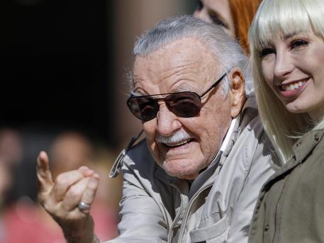 E' morto a 95 anni Stan Lee, il padre dei supereroi Marvel