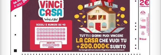Vincicasa, pensionato romano vince una casa e 200.000 euro