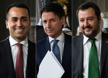 Matteo Salvini, Giuseppe Conte, Luigi Di Maio  e il nuovo governo! Sorprese e conferme