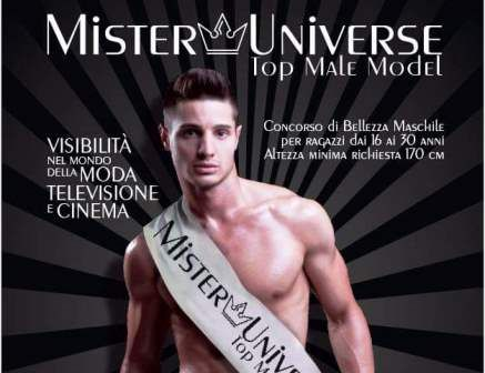 MISTER UNIVERSE TOP MALE MODEL IN CAMPANIA. LA BELLEZZA MASCHILE AL PRIMO POSTO!