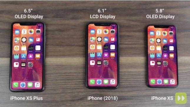 Un nuovo video ci mostra i tre prossimi iPhone