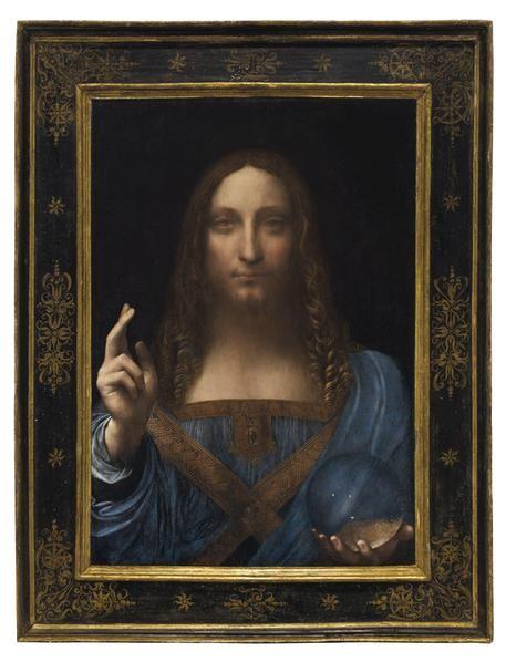 Salvador Mundi di Leonardo da Vinci venduto a 450 milioni dollari