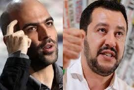 Un attentato alla democrazia! Roberto Saviano di nuovo contro Matteo Salvini