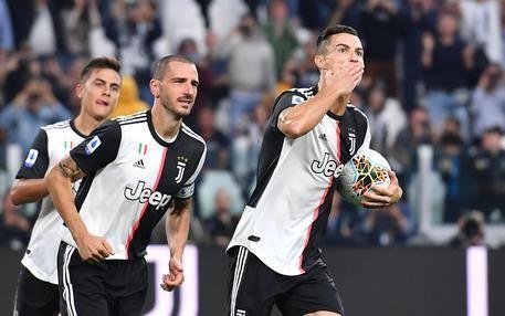 Anticipo Serie A, Juventus Verona 2-1 : La partita