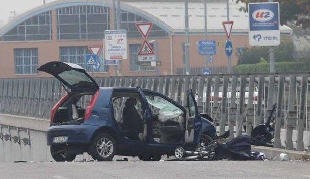 Incidente Monza : muore neonato, gravissimi i genitori