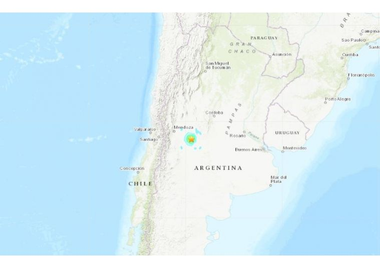Argentina, sisma di magnitudo 5.8