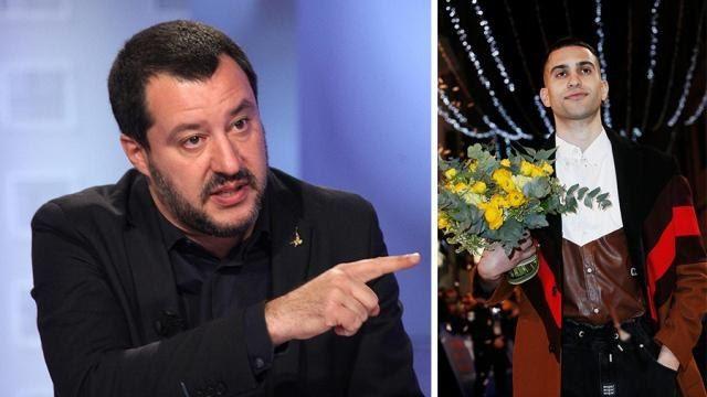 Goditi il tuo successo! L'sms di Matteo Salvini a Mahmood