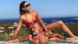 Gianluca Vacchi : Il messaggio della fidanzata Ariadna Gutierrez su Instagram