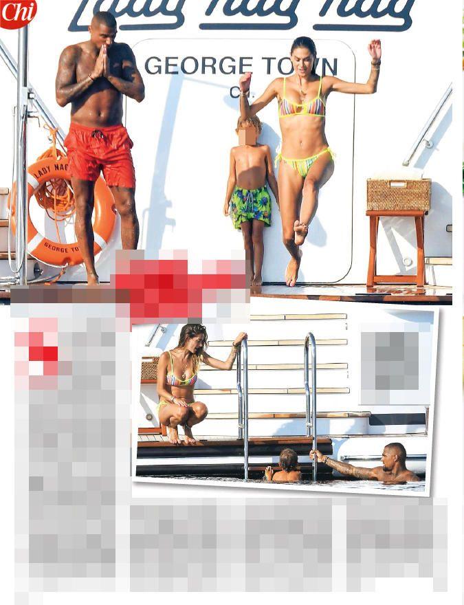 Melissa Satta e Boateng in vacanza insieme... è tornato il sereno