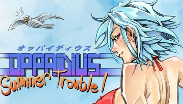 Oppaidius Summer Trouble! disponibile su Steam