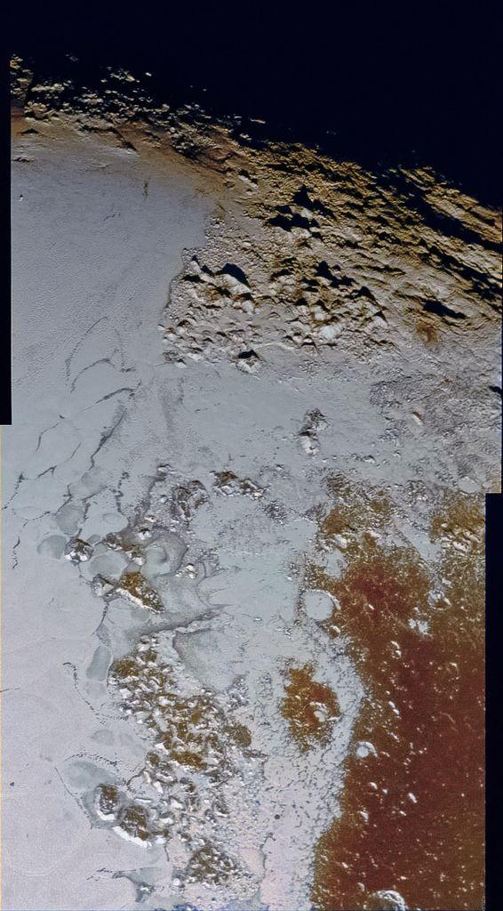 New Horizons svela il cuore montuoso di Plutone