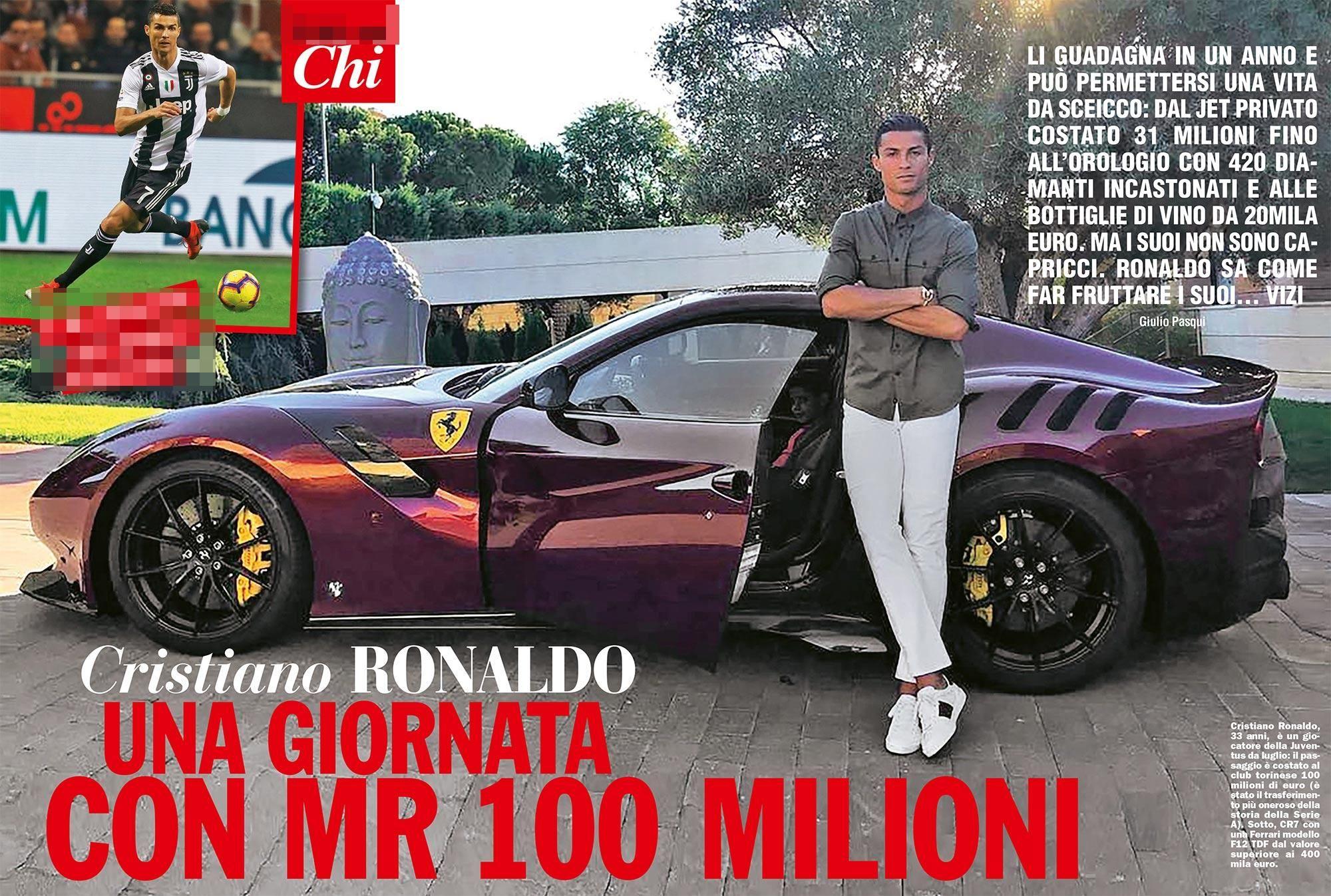 Vita da sceicco! Il lusso del campione Cristiano Ronaldo