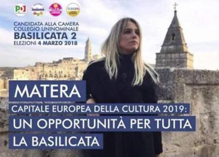 Elezioni 2018 : Francesca Barra dimentica l'apostrofo nel manifesto elettorale