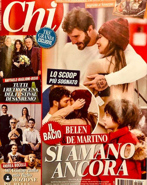 Che bacio! Belen Rodriguez e Stefano De Martino si amano ancora