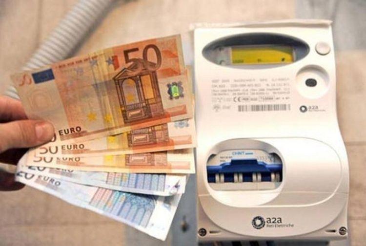 Bollette luce energia elettrica : Conto non pagato a carico di utenti