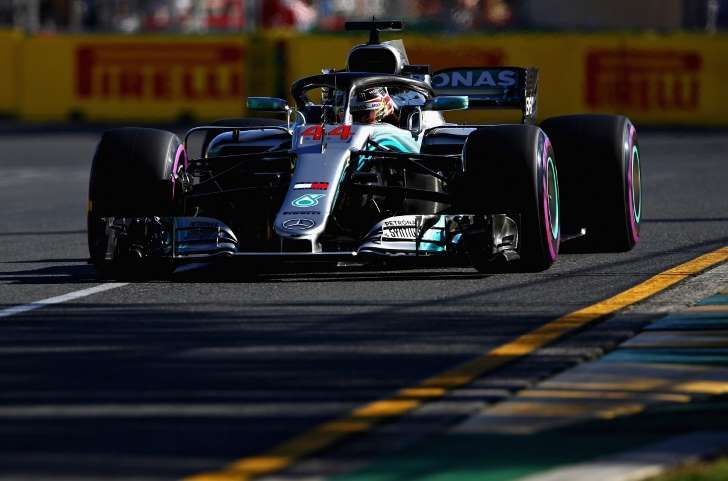 F1 GP Australia : Hamilton miglior tempo nelle libere