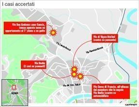 Roma : il cecchino dei piombini colpisce un gatto