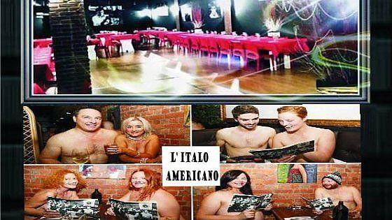 Nel Milanese apre il primo ristorante per nudisti