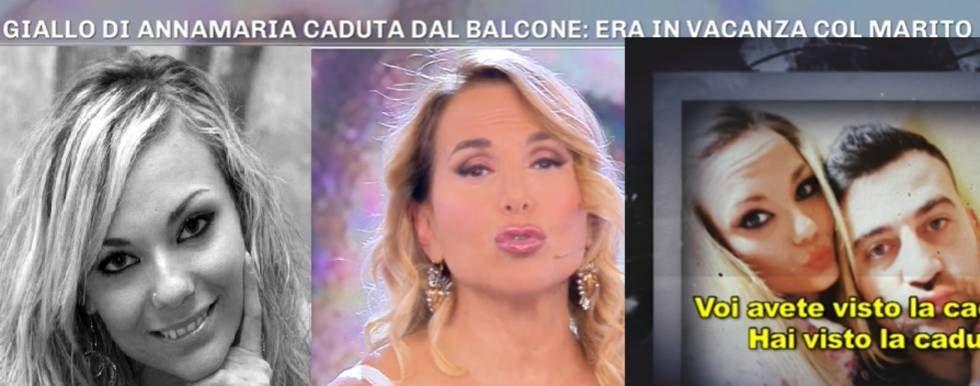A Pomeriggio 5 il giallo dell'ex Miss Campania volata dal balcone