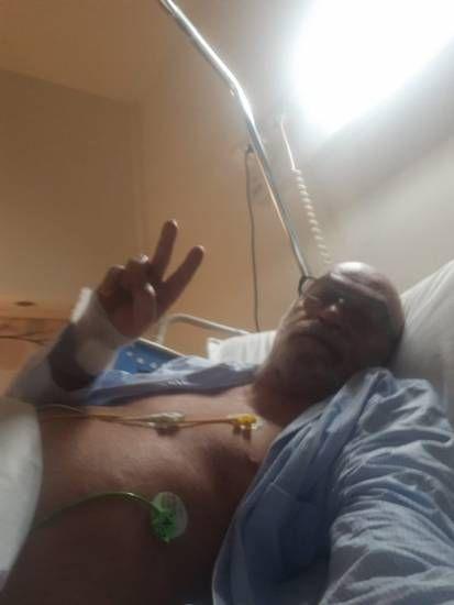 Toni Capuozzo dall'ospedale: Non vi libererete facilmente di me
