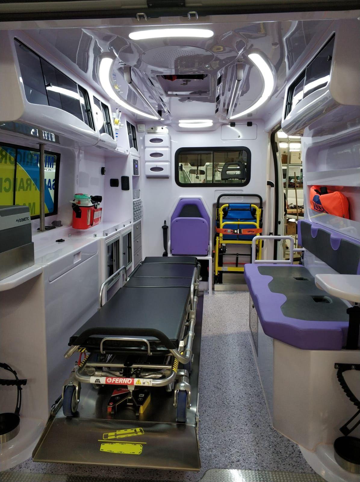 Massa : anonimo benefattore dona ambulanza modernissima superaccessoriata