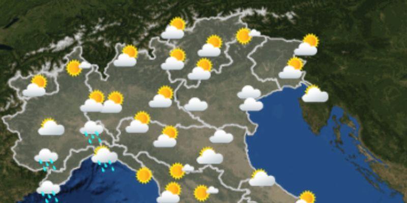 Previsioni meteo per giovedì 2 agosto