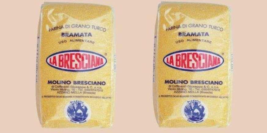Farina di Mais La Bresciana ritirata dai supermercati : l'allerta dal Ministero della salute