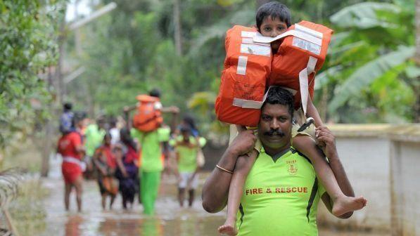 India/ Inondazioni Kerala : oltre un milione di sfollati