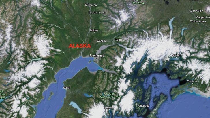 Terremoto Alaska magnitudo 8.2 : Aallarme tsunami sulla costa occidentale Usa