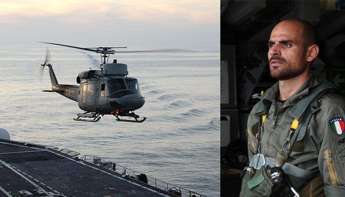 Cade Elicottero Marina : Chi è il Maresciallo morto Andrea Fazio?