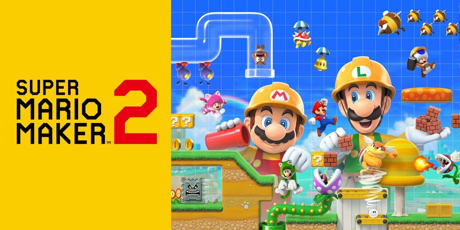 Arriva Super Mario Maker 2 per Nintendo Switch