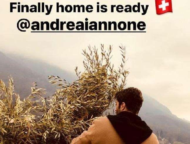 Belen Rodriguez va a vivere in Svizzera con Andrea Iannone
