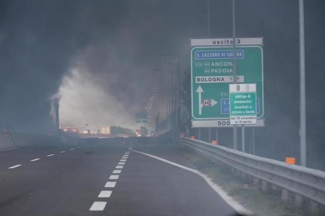 Esplosione a Bologna : Morto l'autista dell'autocisterna Andrea Anzolin