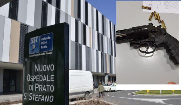 Prato/ Panico al Pronto Soccorso Santo Stefano: Armato di pistola minaccia gli infermieri