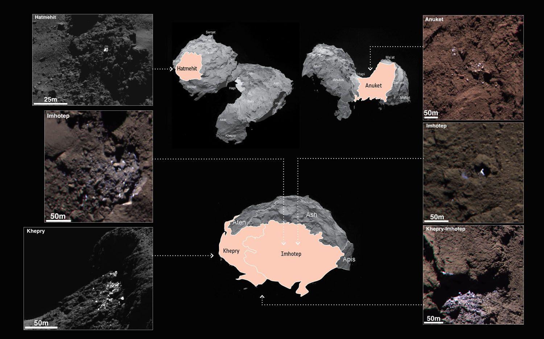 Una cometa a chiazze... di ghiaccio d'acqua!