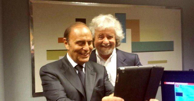 Beppe Grillo a Porta a Porta : 3,2 mln di spettatori e share al 23,75%