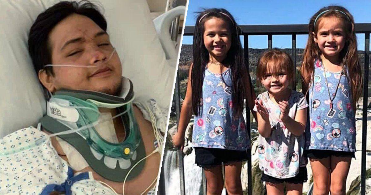 Le tue 3 figlie sono morte! Si sveglia in ospedale dopo l'incidente ed è paralizzato