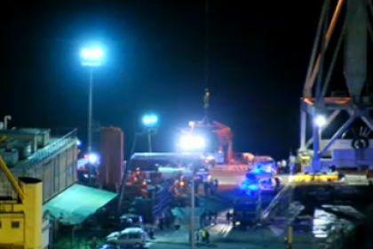 Incidente navale Genova (VIDEO)
