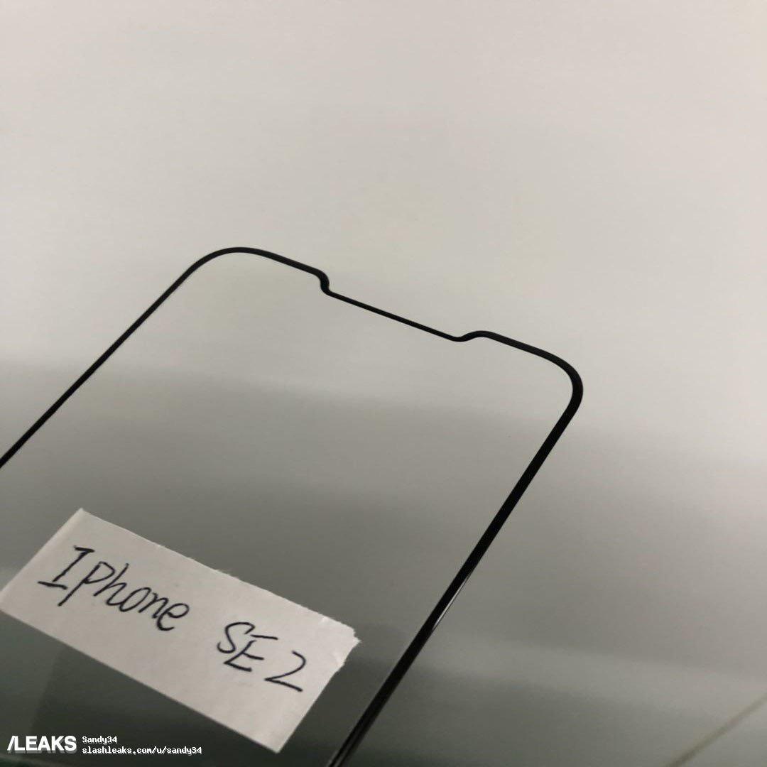 iPhone SE 2 :  Sul web nuove immagini di una pellicola protettiva dello schermo