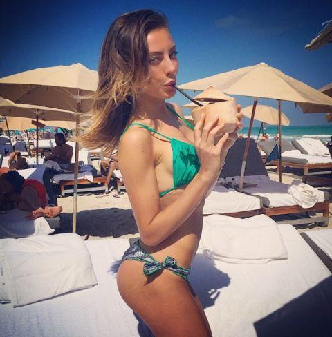 Alessia Tedeschi bellissima in bikini a Miami